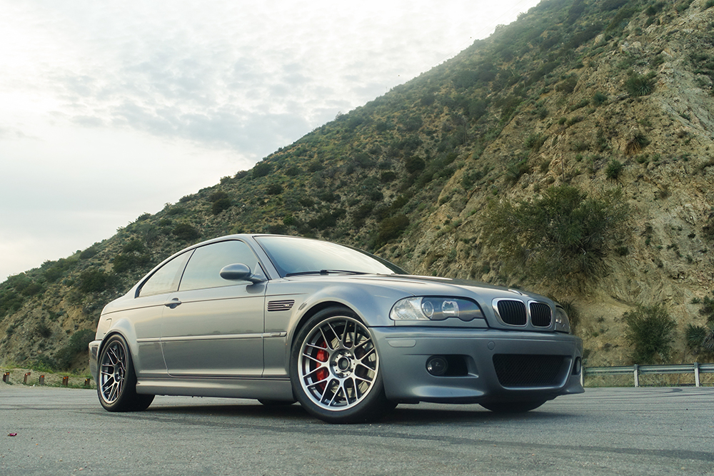 BMW E46 M3 with APEX Wheels