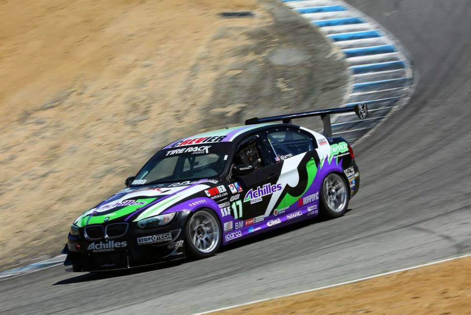 M3 Track Car at Laguna Seca