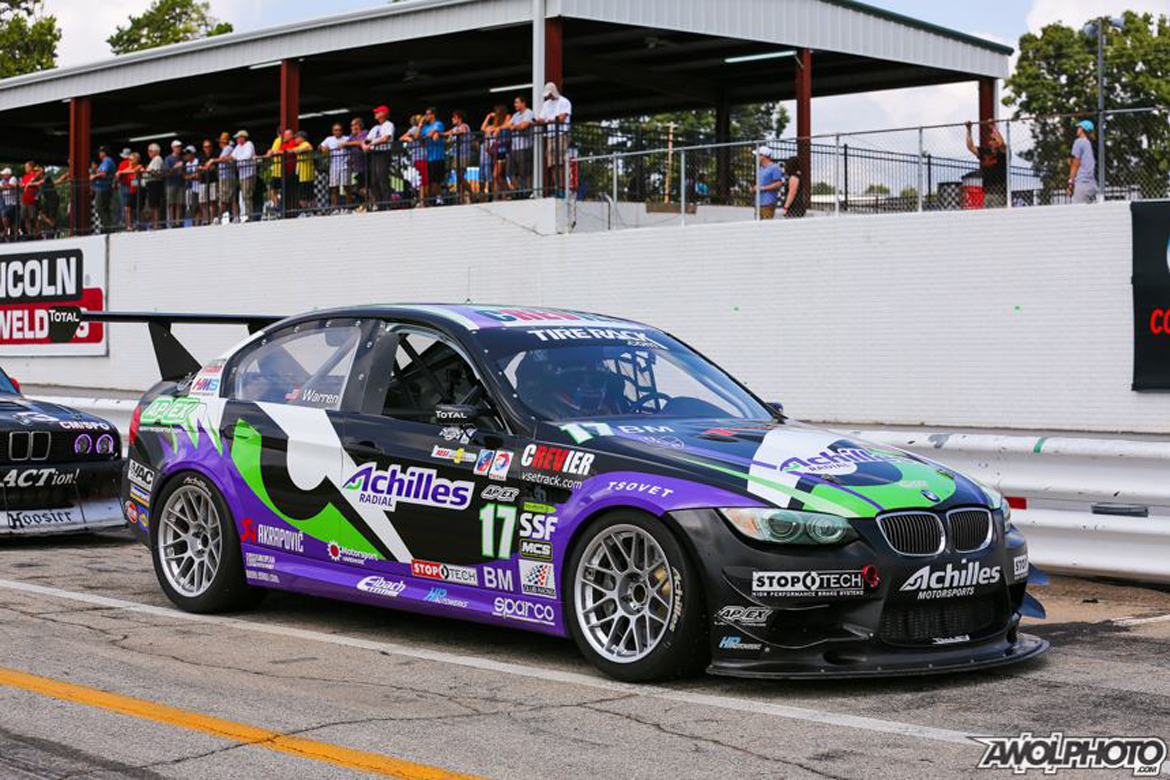 Ralph Warren E90 M3 Race Car with APEX Wheels