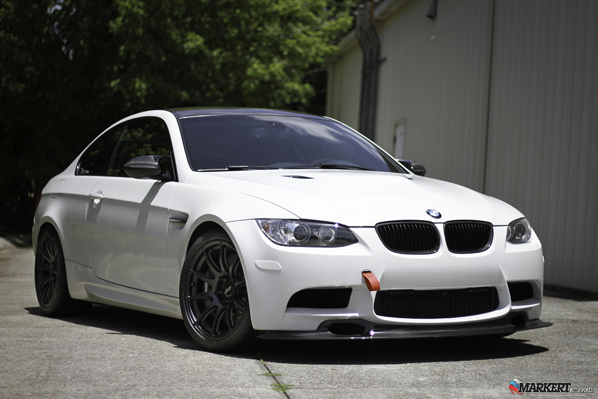 Markert Motorworks E92 M3 with SM-10 Track Wheels