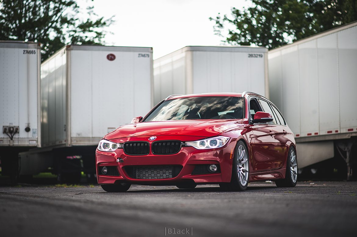 Ian's F31 328Xi Touring with SM-10 Track Wheels