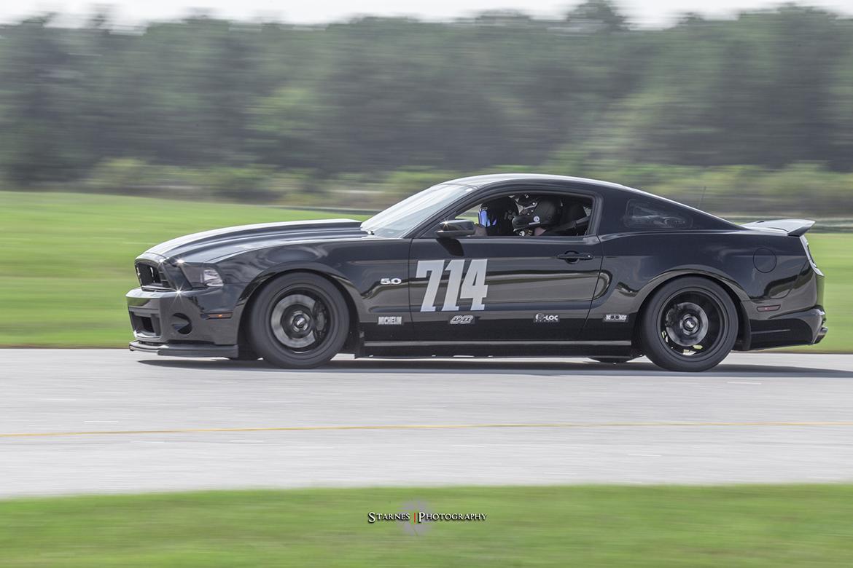 Matt's S197 Mustang with APEX EC-7 Wheels