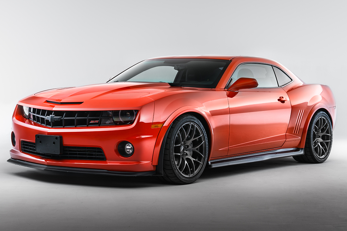Andrew's Camaro SS with APEX PS-7 Wheels