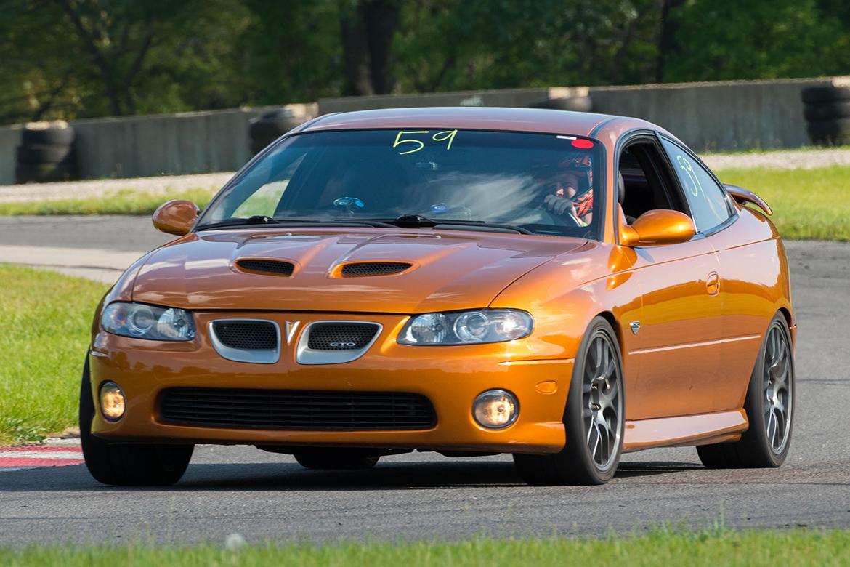 Cody's Pontiac GTO with APEX Wheels