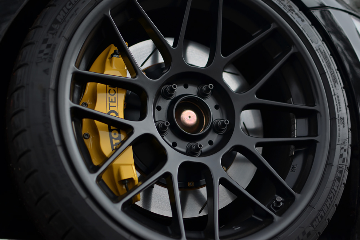 Mounted Wheel With Extended Stud Kit