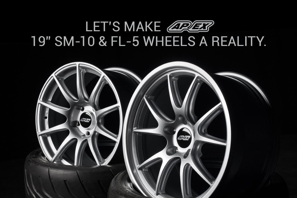Let's Make APEX SM-10 and FL-5 Wheels A Reality