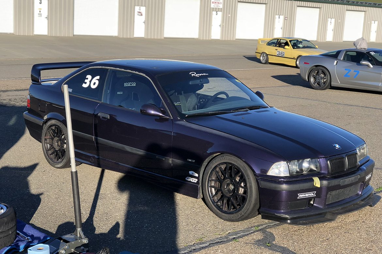 Track Day At Thunderhill Raceway