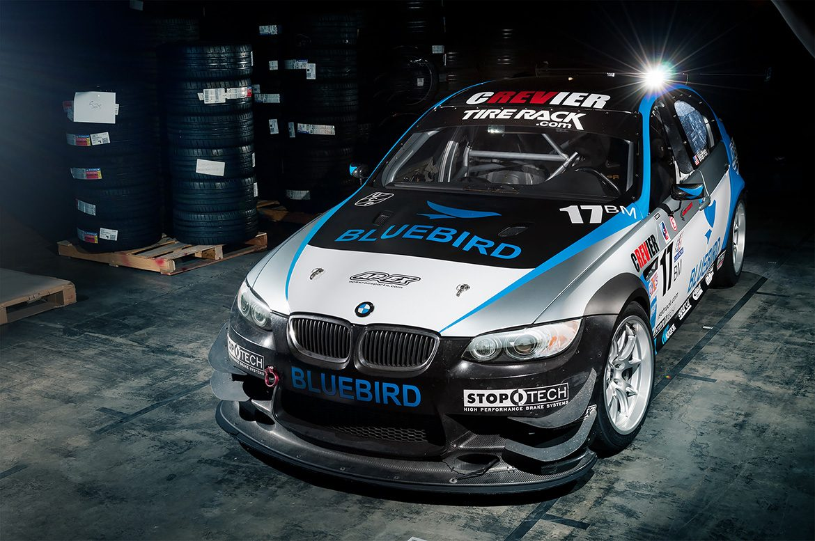SCTS Racing's E90 M3 Race Car with FL-5 Wheels