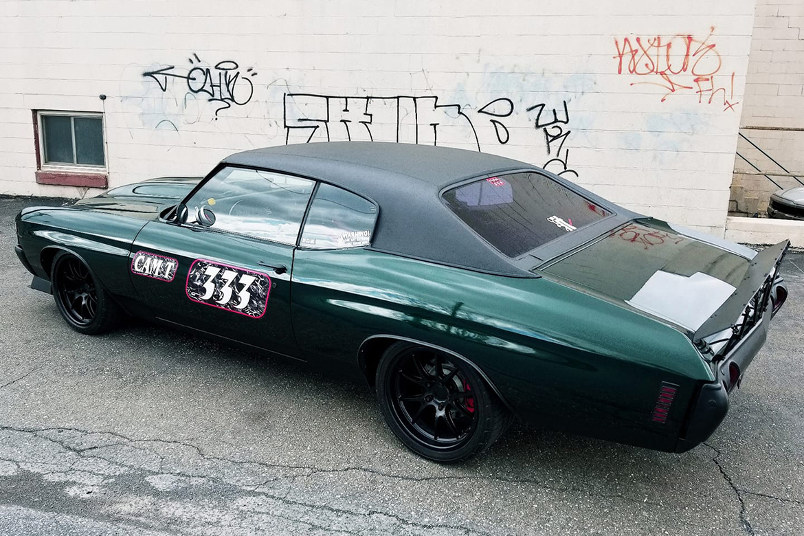 "Brian's Chevelle with 18"" FL-5 Wheels"