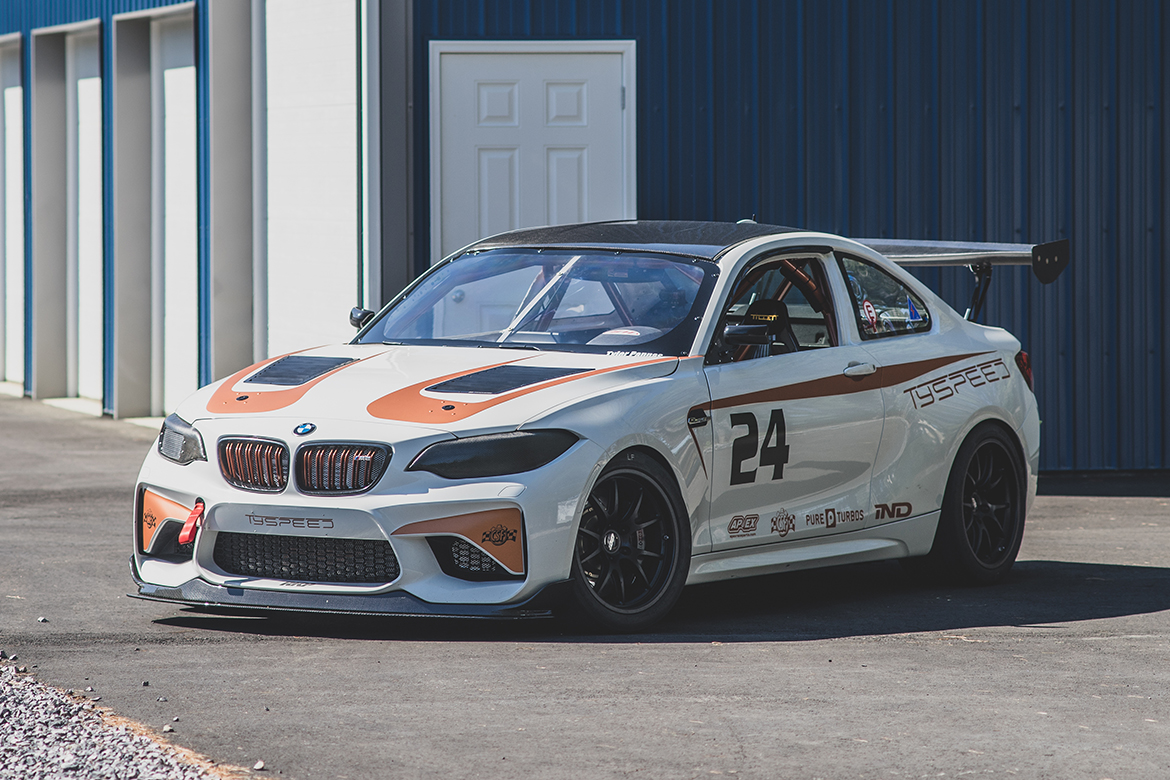 TySpeed BMW M2 Club Racer Build