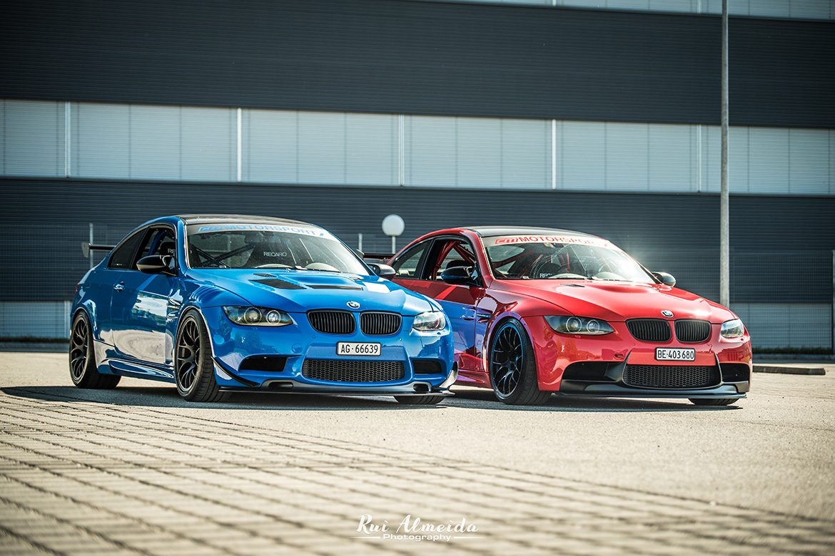 CM Motorsport Red & Blue M3 Track Cars