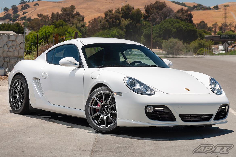 Porsche 987.2 Cayman S Test Fitment