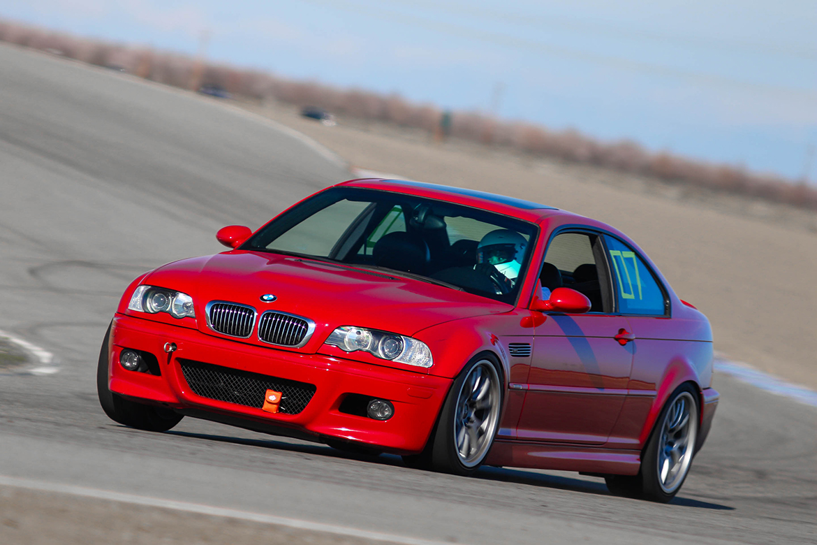 "Connie's Dual Duty E46 M3 with 18"" FL-5 Wheels"
