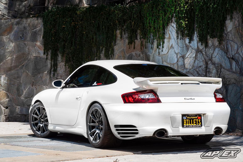 Porsche 996TT Test Fitment