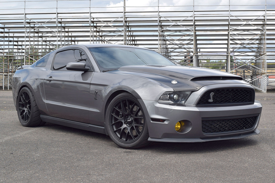 Ray's GT500 with APEX Wheels