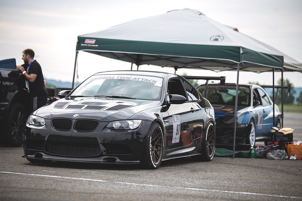 Khoi's E92 M3 Track Car with ARC-8 Wheels in Matte Bronze