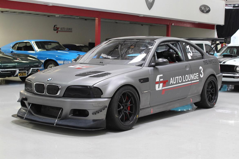 "Greg's E46 M3 Race Car with 18"" FL-5 Wheels"
