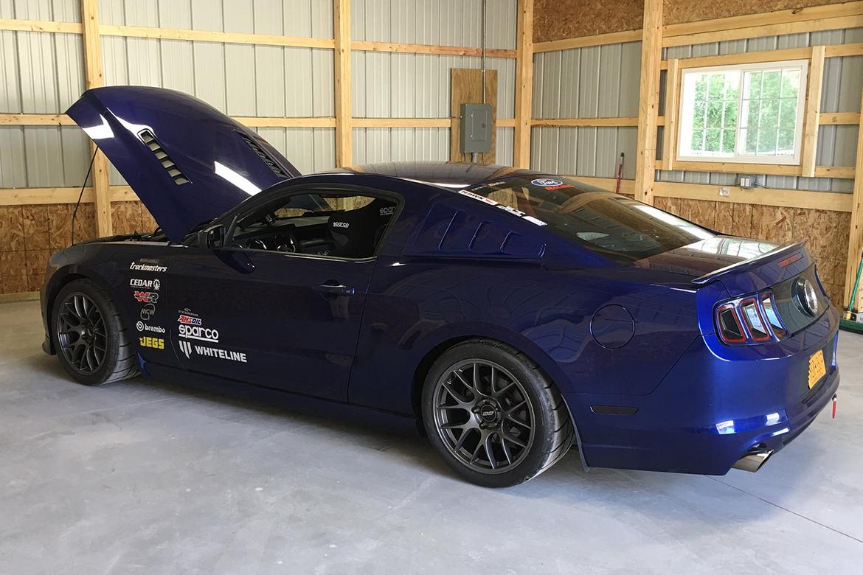 "Michael's S197 Mustang with 18"" EC-7 Wheels"