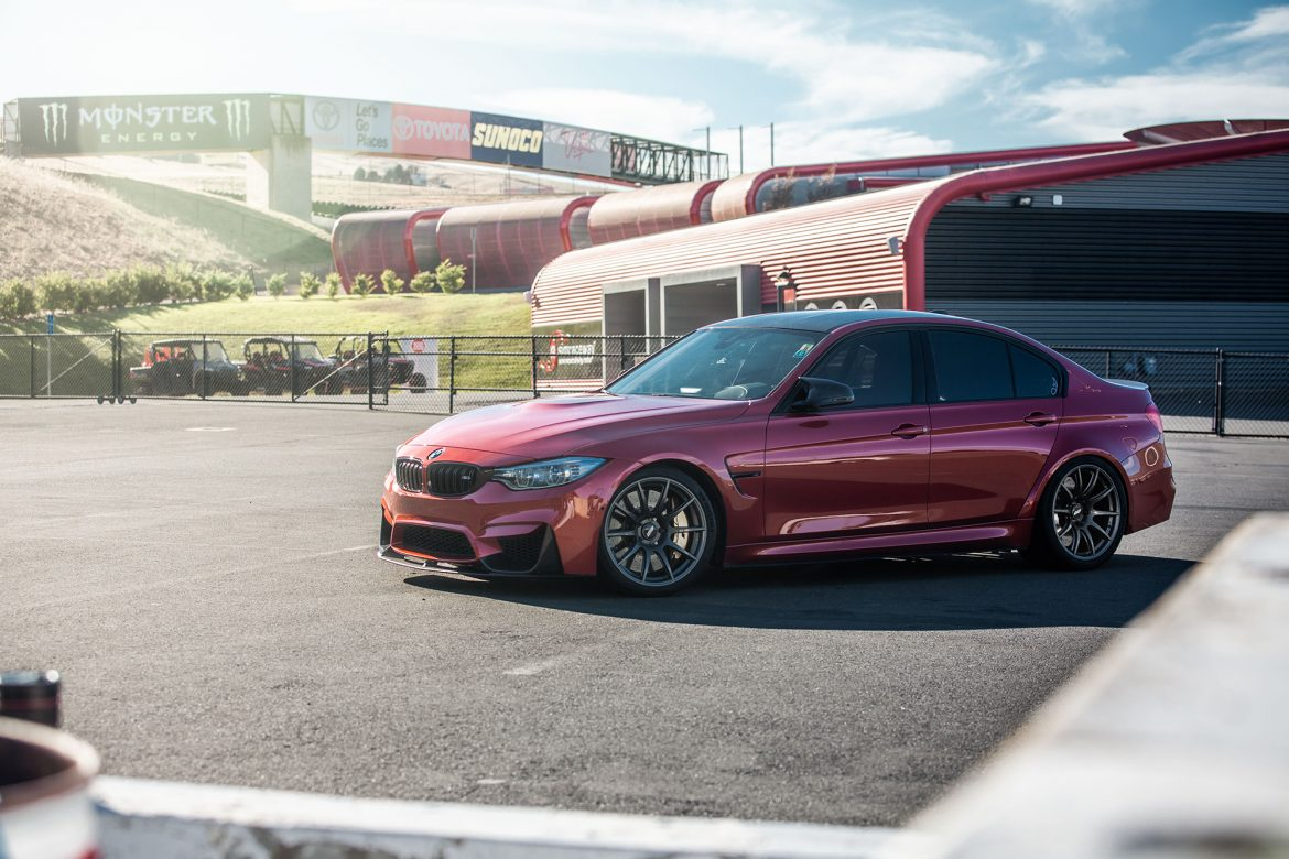 BMW F80 M3 at Sonoma Raceway with 19″ SM-10 Wheels