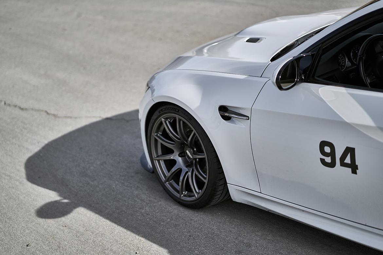 """E92 M3 Track Car with 19"""" SM-10 Wheels"""