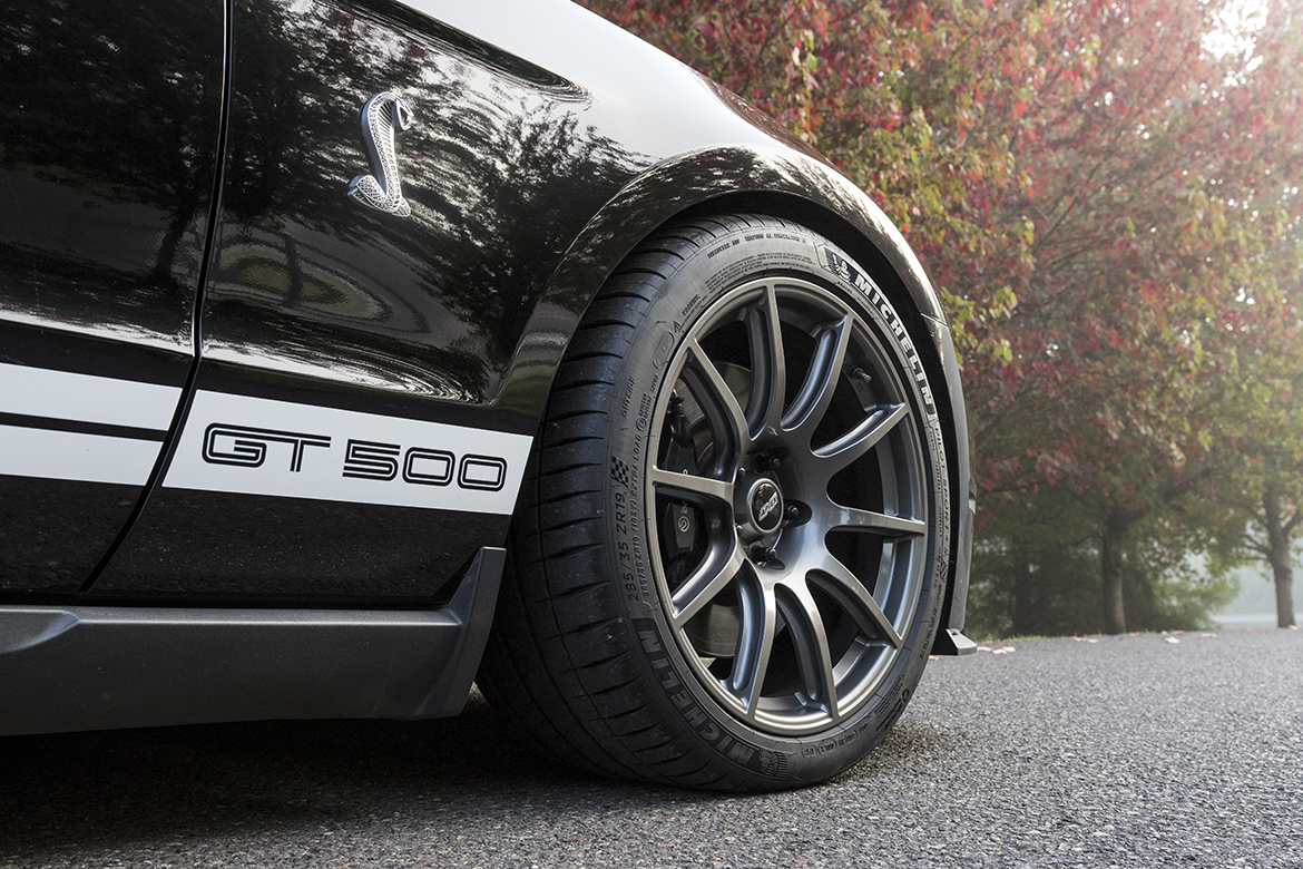 """Mustang GT500 with 19"""" SM-10 Wheels"""