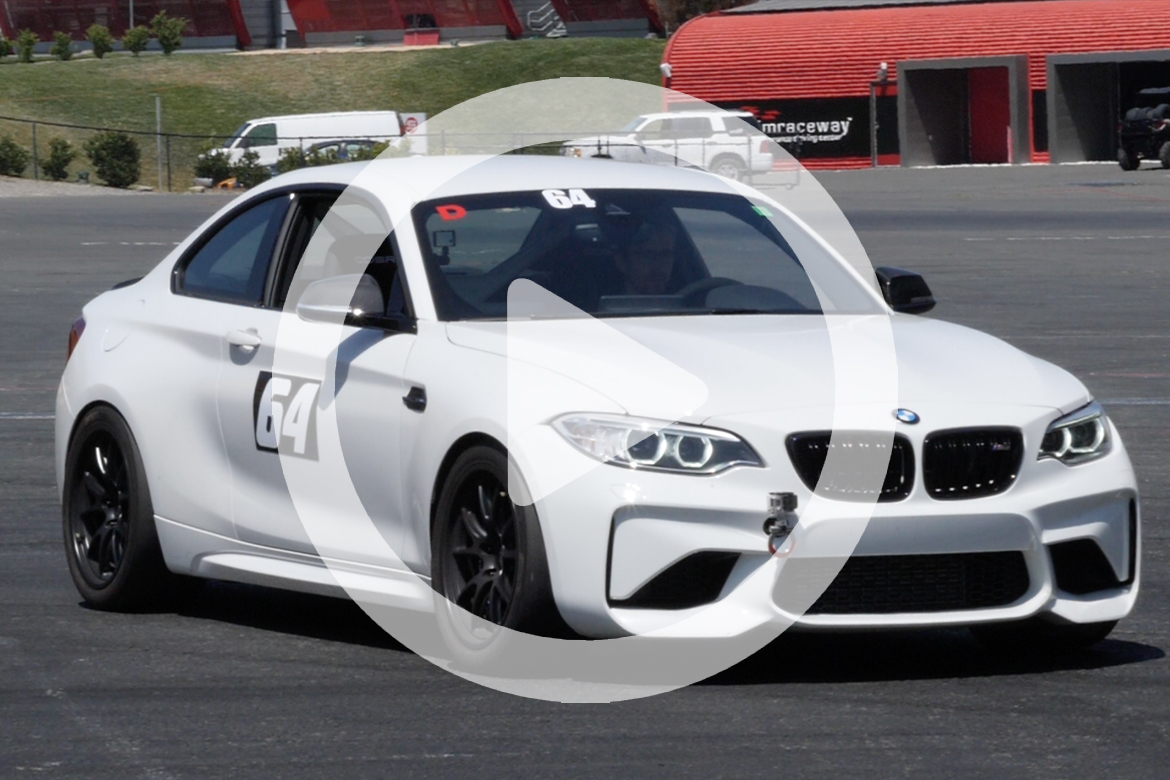 "F87 M2 with 18"" FL-5 Wheels at Sonoma Raceway"