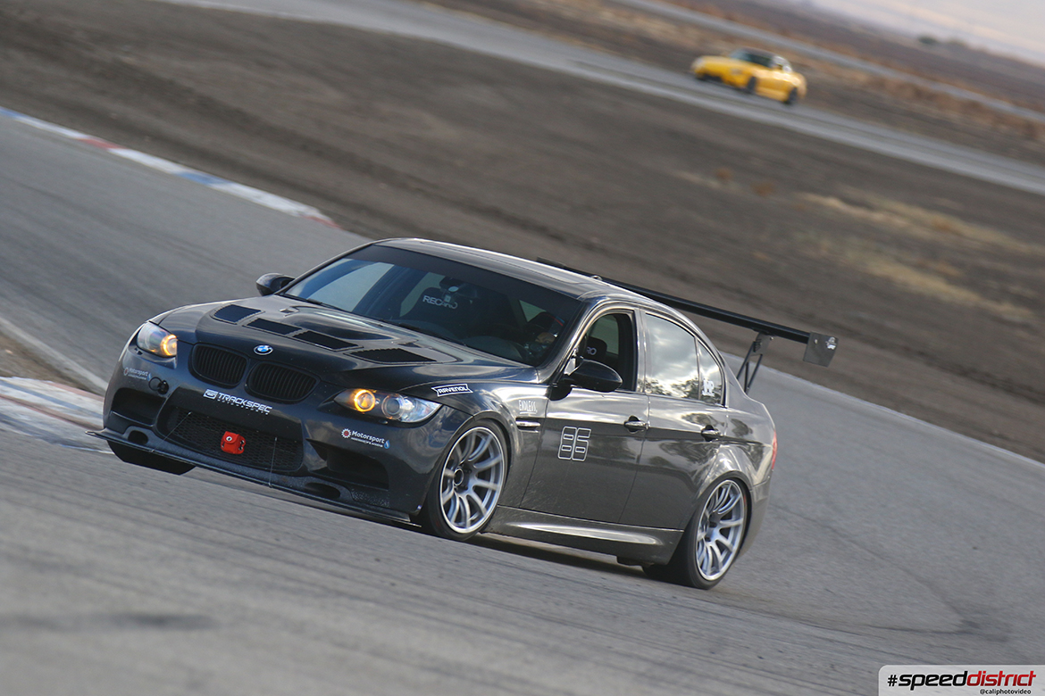 "Phil's E90 M3 Track Car with 18"" SM-10 Wheels"