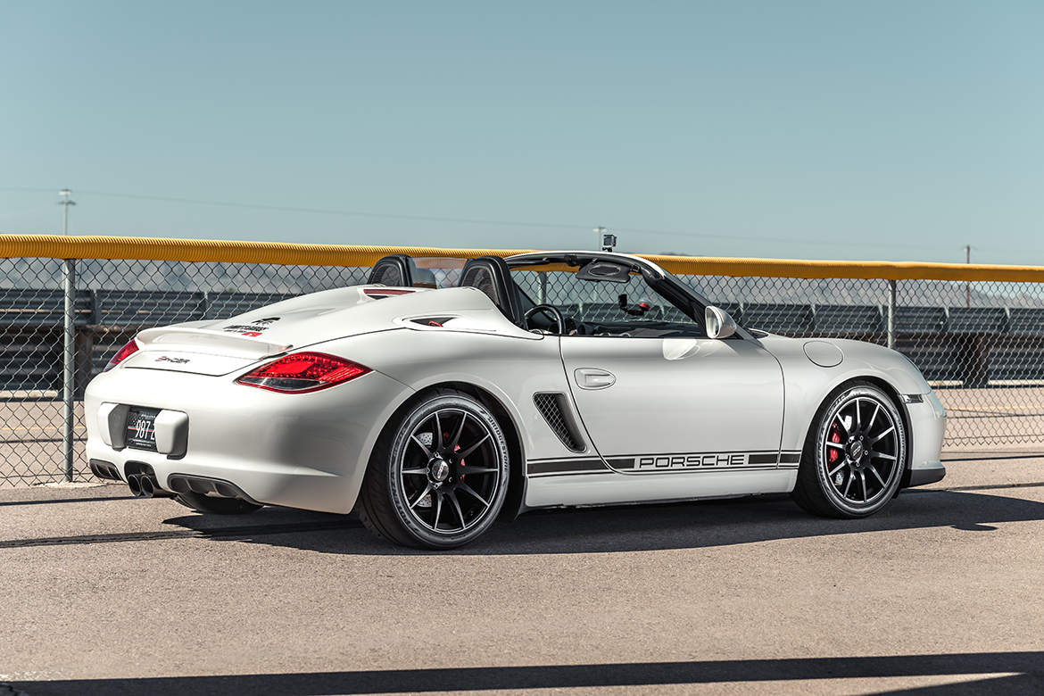 Porsche Boxster Spyder with APEX Wheels