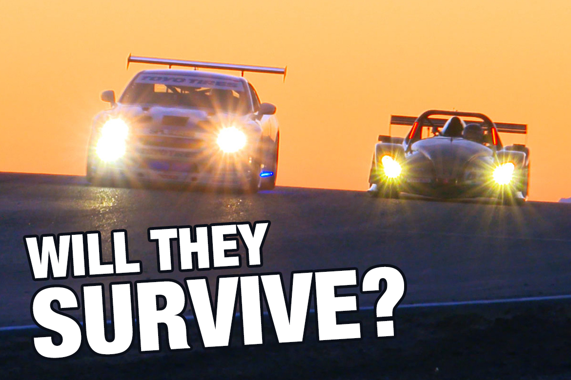 Surviving The 25 Hours of Thunderhill 2018
