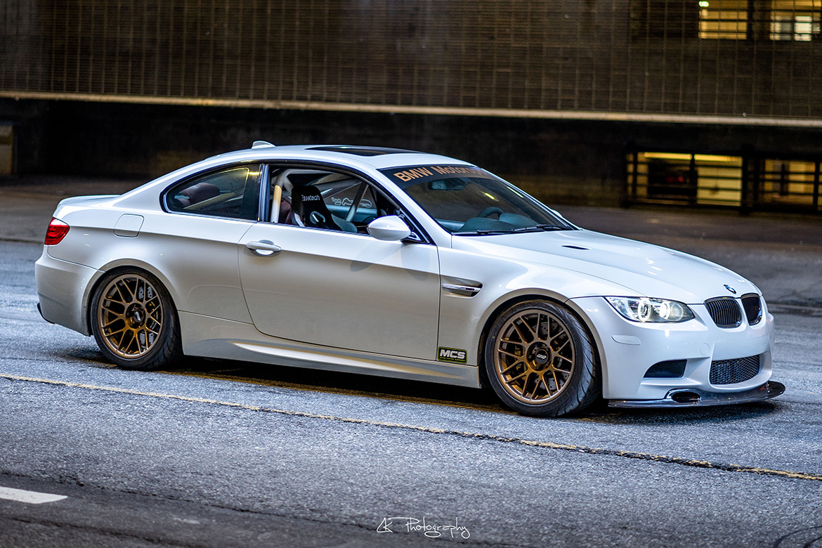 Lacha's Dinan E92 M3 4.6L with 18″ ARC-8 Wheels