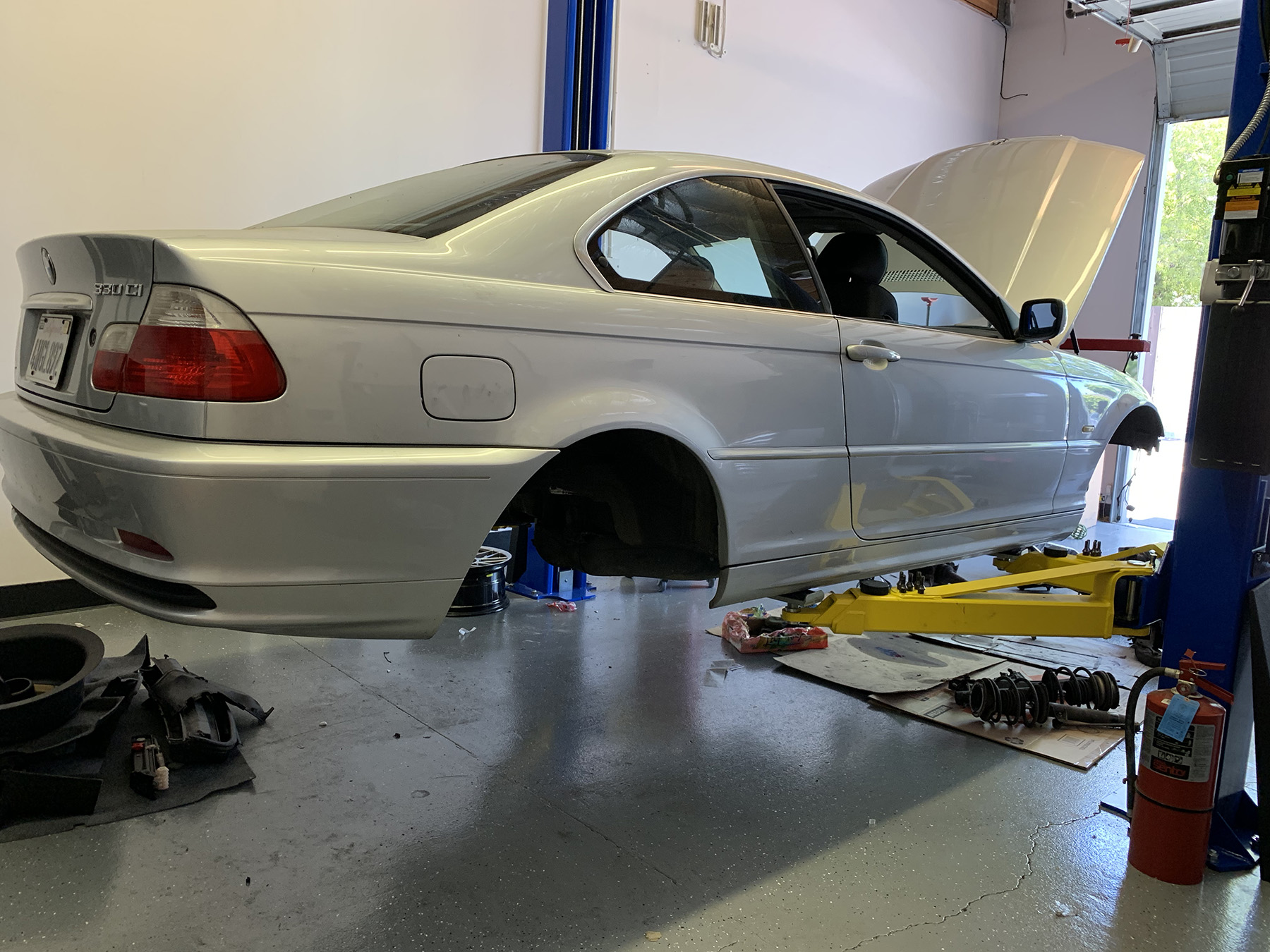 APEX Shop E46 Track Car