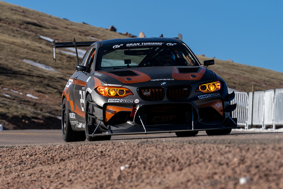 Tyspeed BMW M2 at the 2019 Pikes Peak International Hill Climb