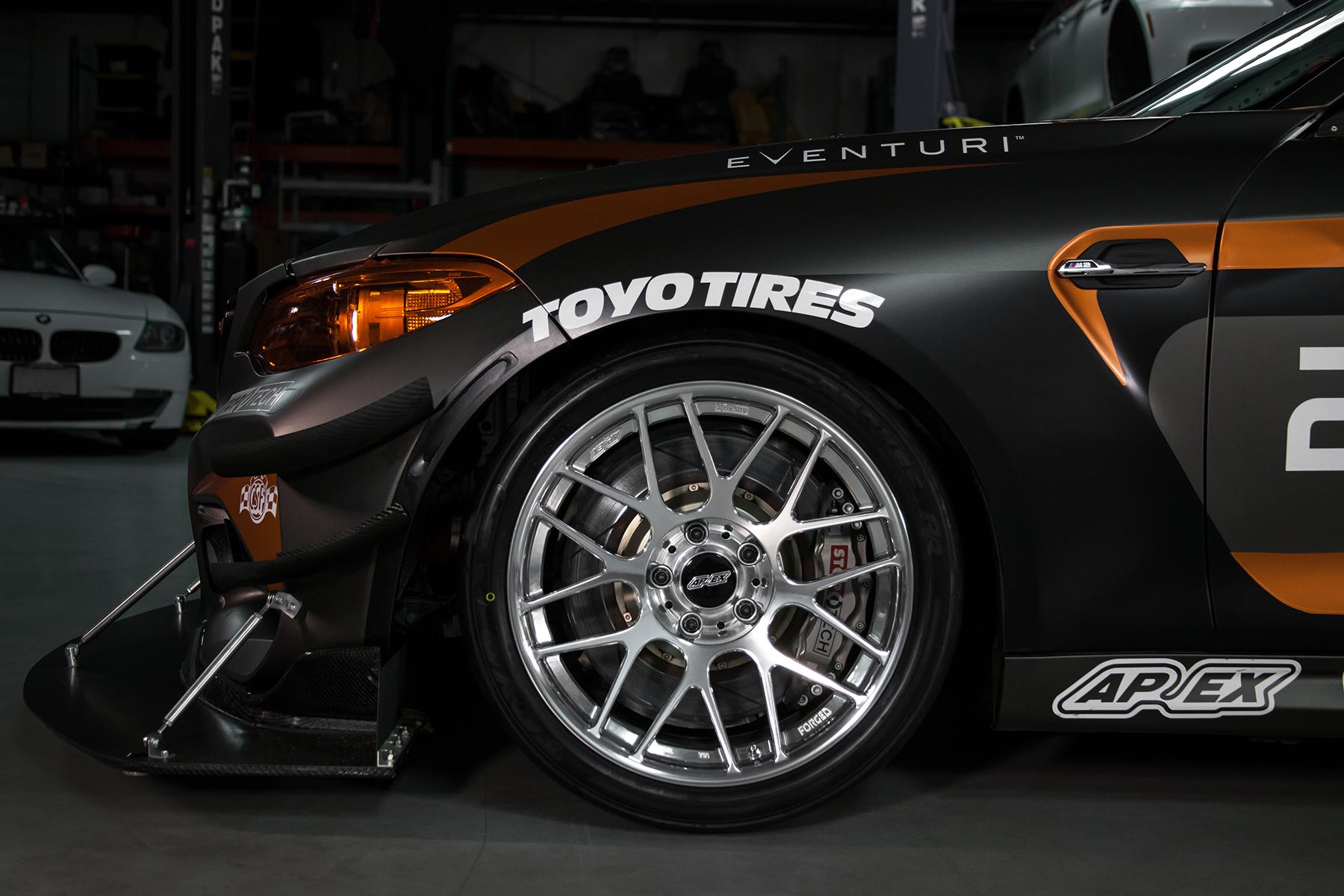 """Tyspeed BMW M2 with 18"""" ARC-8R Forged Wheels"""