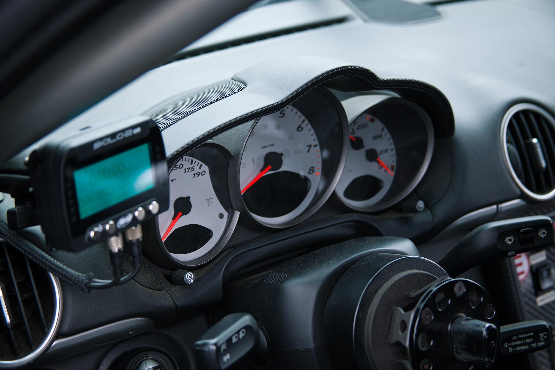 "Porsche Cayman S with 18"" SM-10 Wheels at Lime Rock Park"