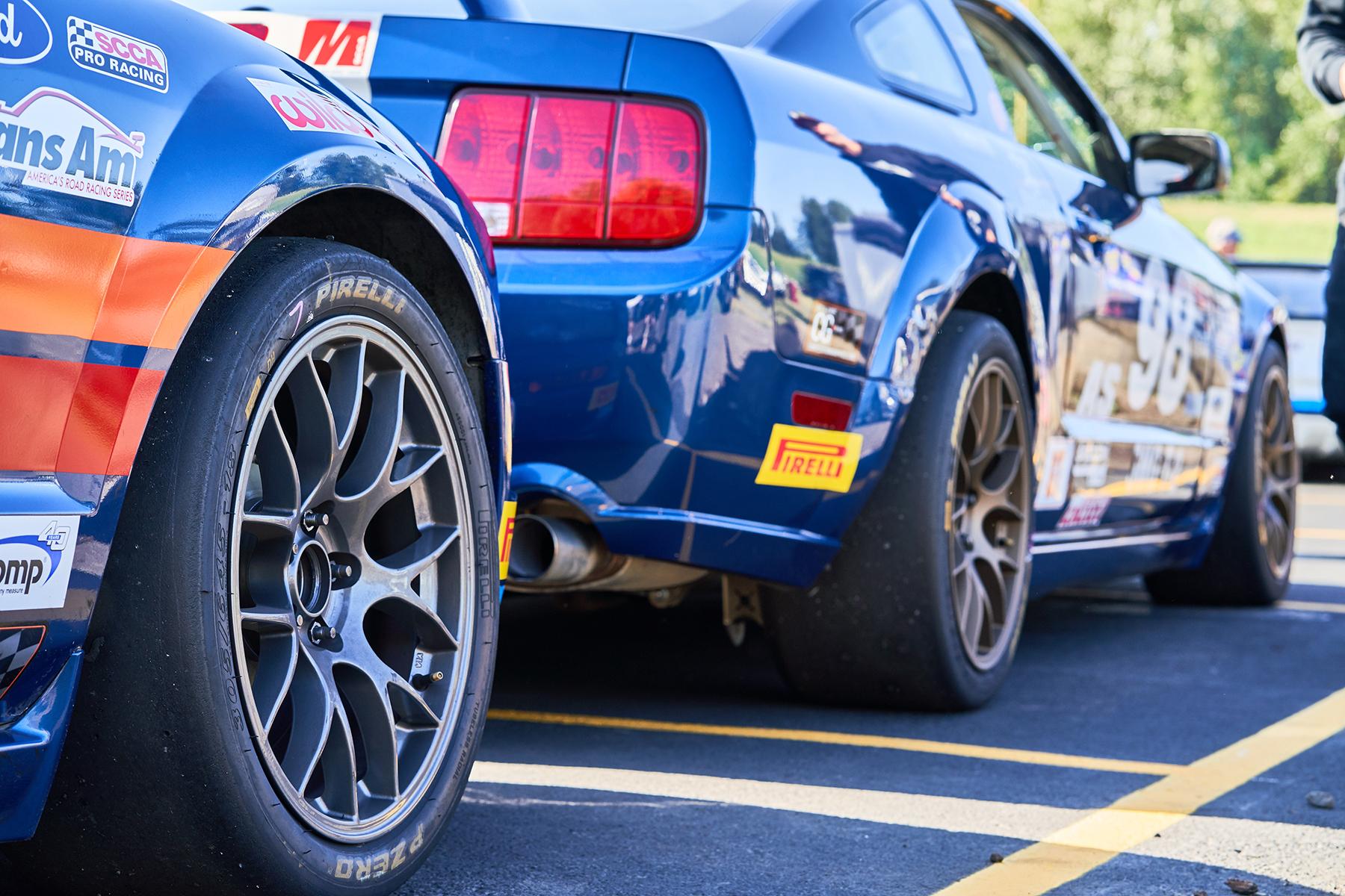 Ford Mustang Racing Wheels