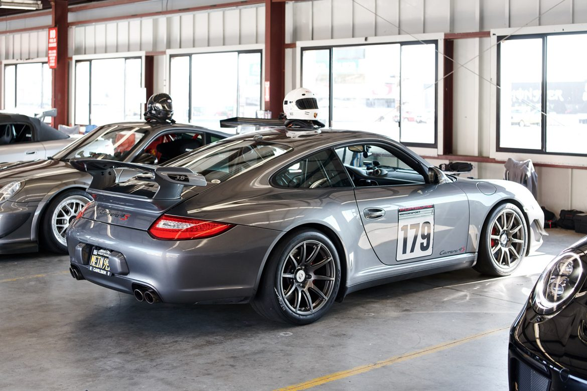 Christopher's Porsche Carrera 4S with SM-10 Wheels at Sonoma Raceway