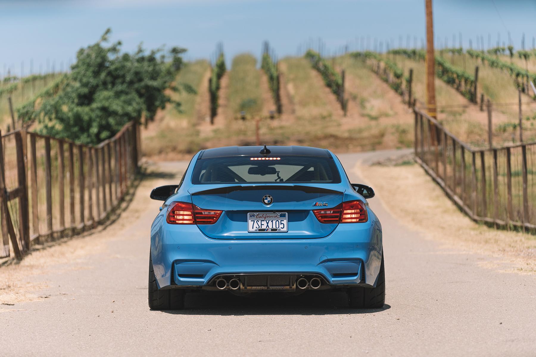 """BMW M4 with 18"""" ARC-8R Forged Wheels"""