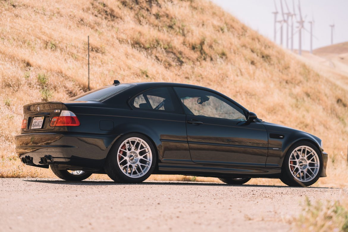 "BMW E46 M3 with 18"" ARC-8R Forged Wheels"