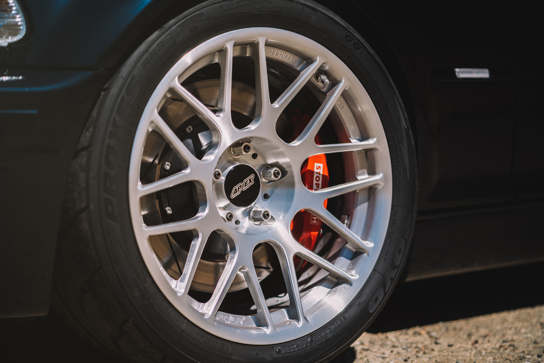 "BMW E46 M3 with 18"" ARC-8R Forged Wheels"