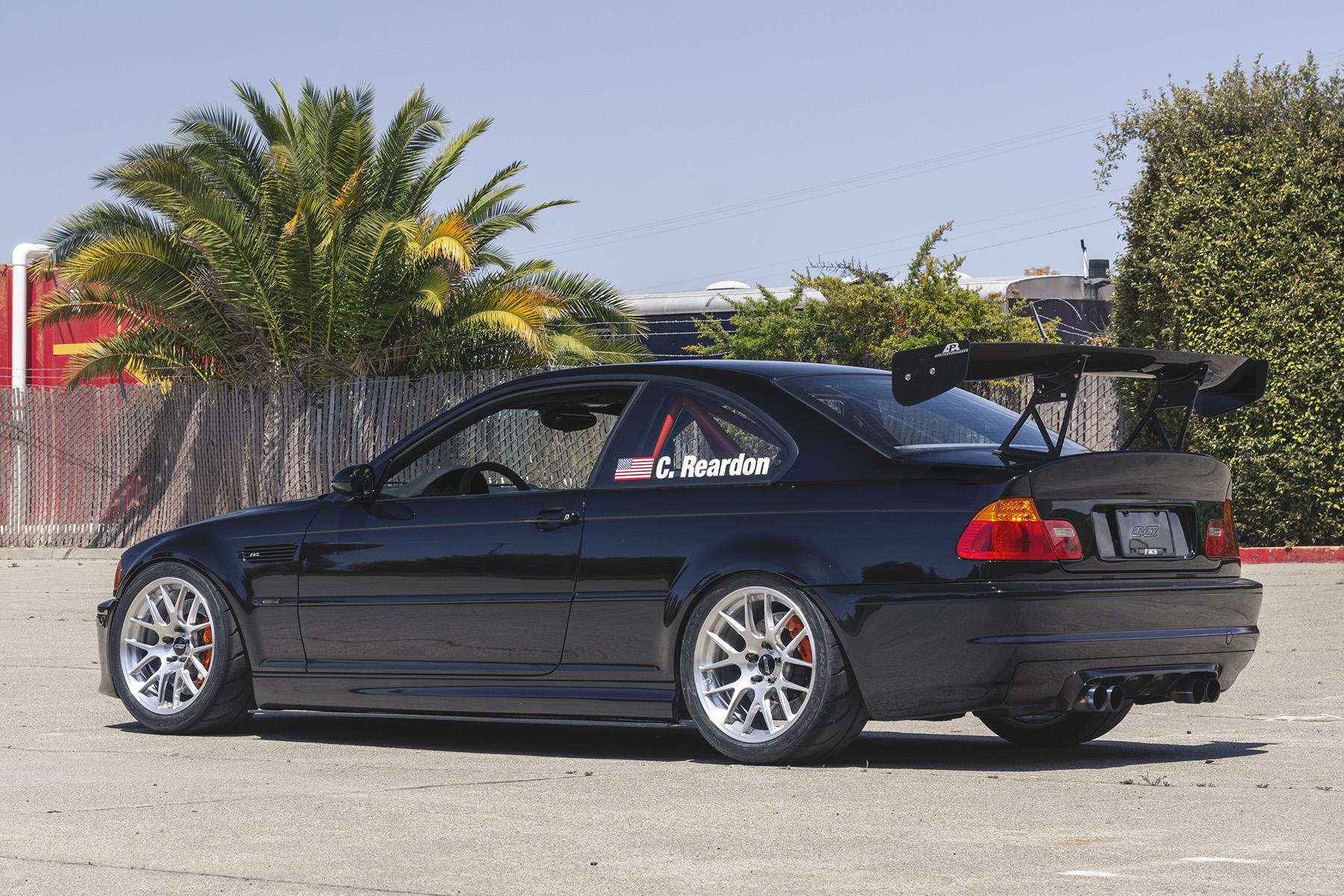 """BMW E46 M3 Track Car with 18"""" EC-7R Forged Wheels"""