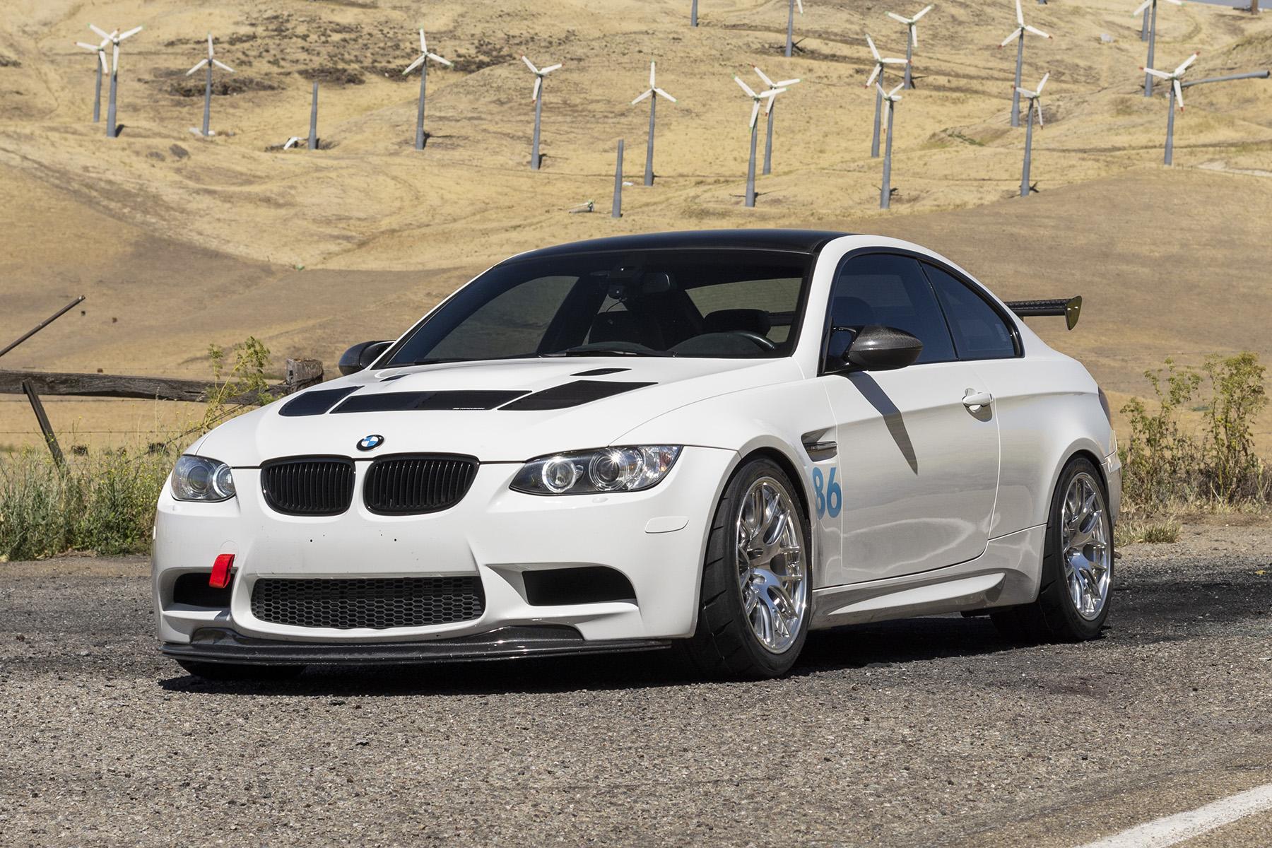 "BMW E92 M3 with 18"" EC-7R Forged Wheels"