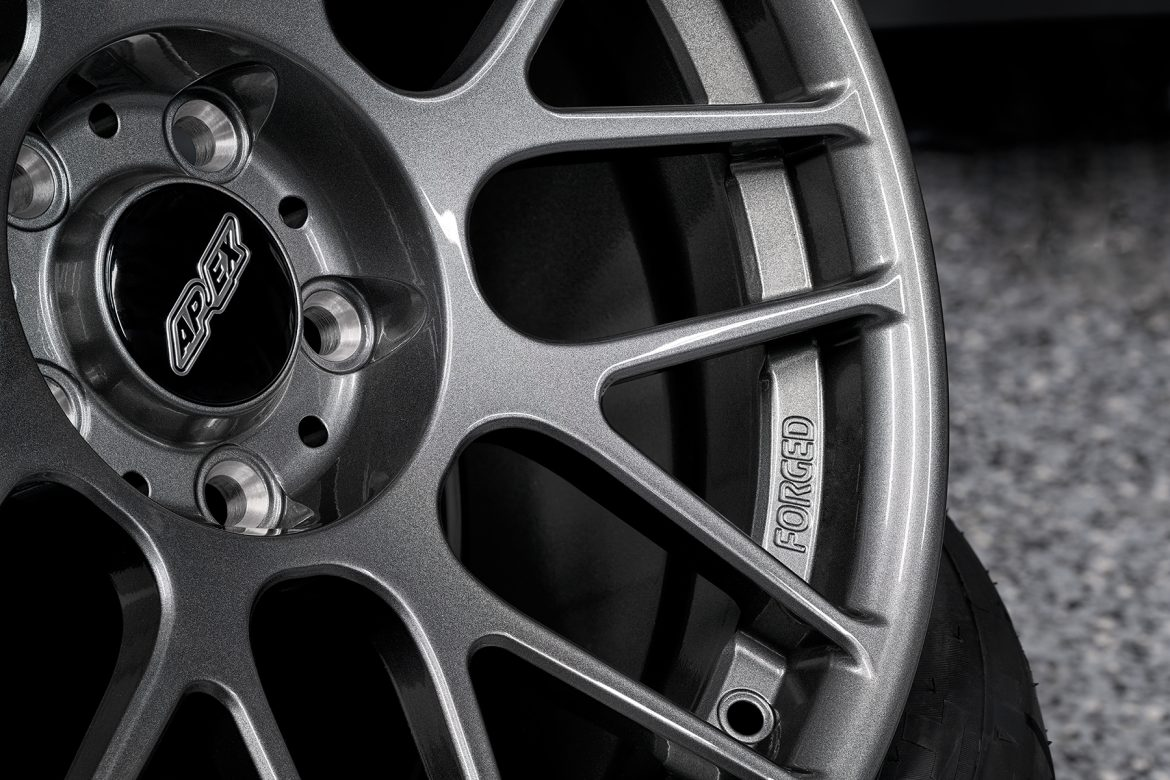 APEX Forged Wheels in our Popular Anthracite Finish