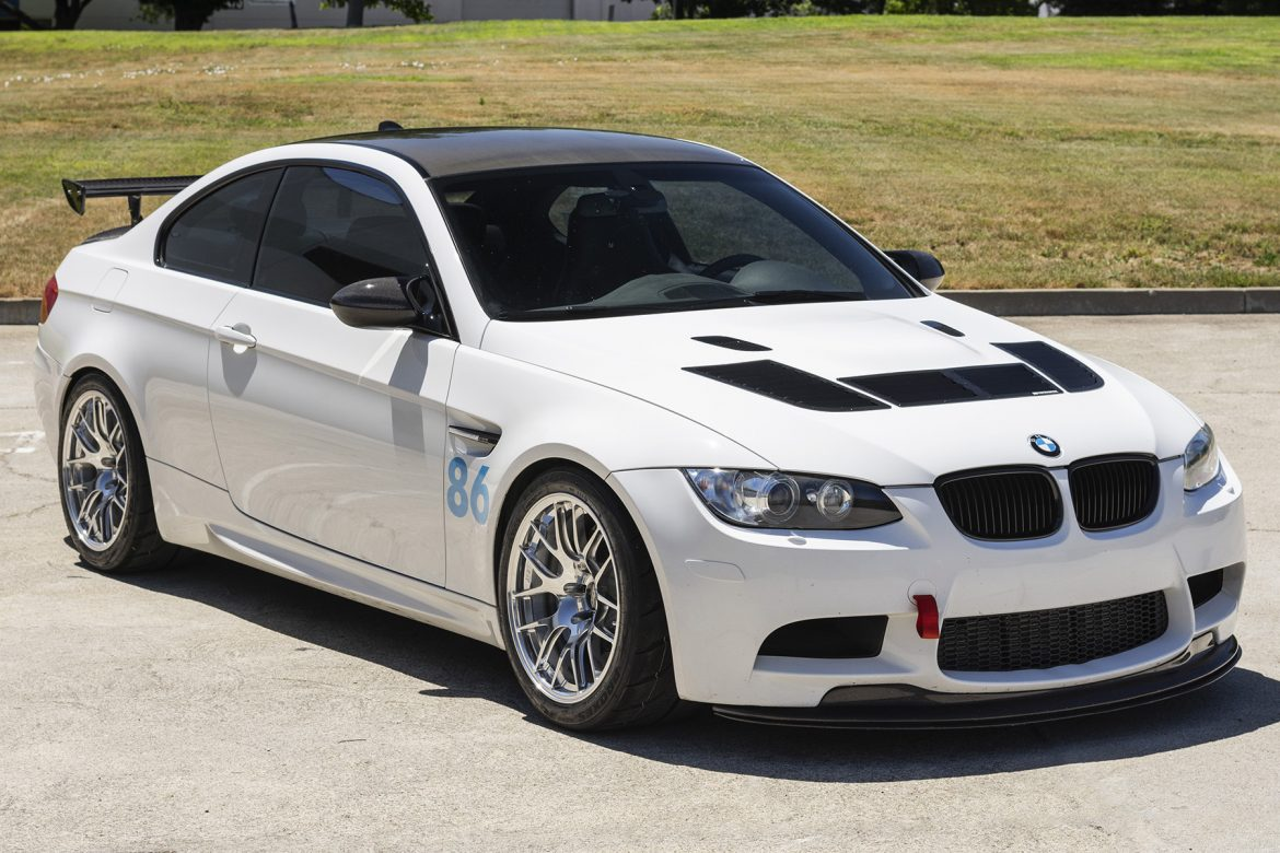 "BMW E92 M3 with 18"" EC-7R Forged Wheels"