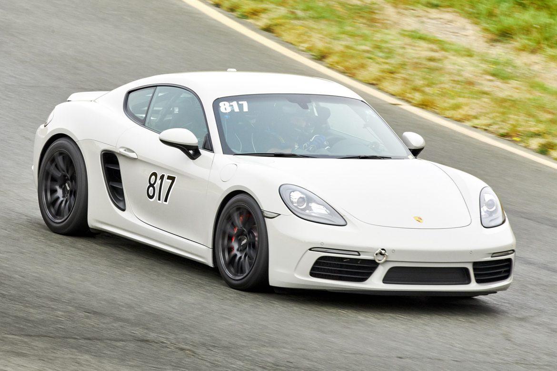 Porsche 718 Cayman S at Sonoma Raceway
