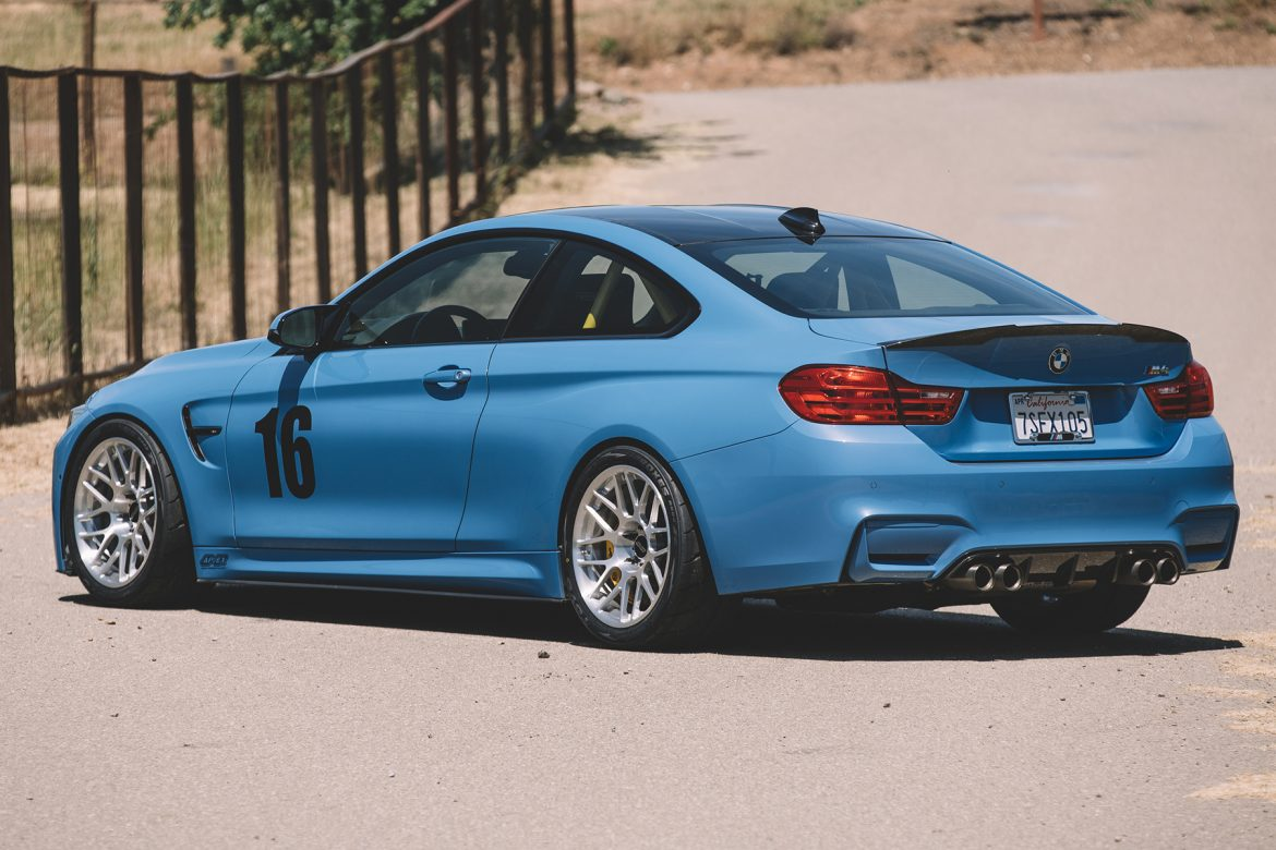 BMW F82 M4 with ARC-8R Forged Wheels