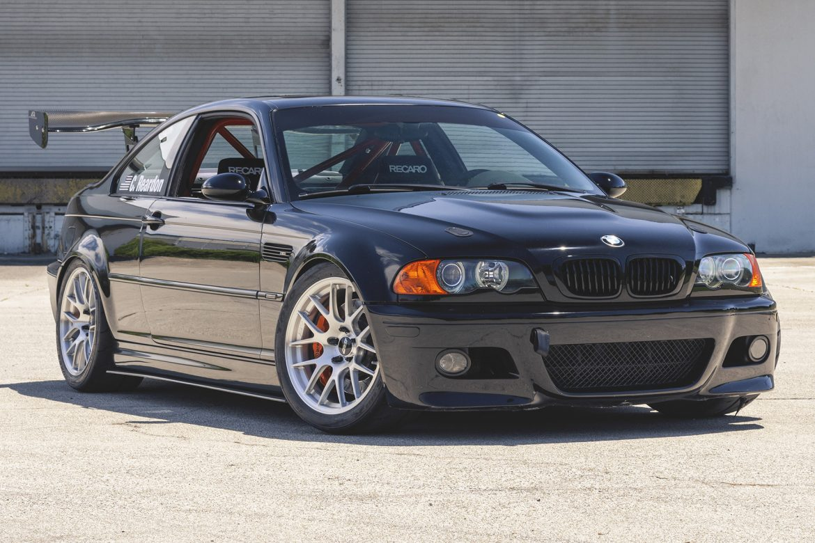BMW E46 M3 Track Car with EC-7R Forged Wheels