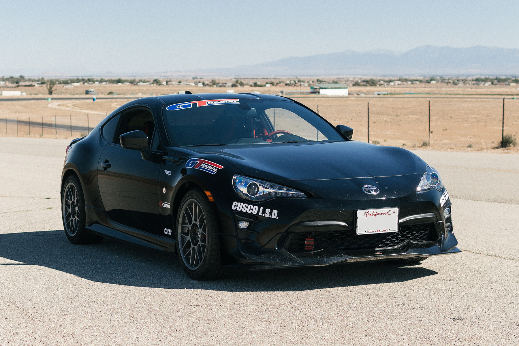 "Toyota 86 TRD with 17"" ARC-8 Track Wheels"