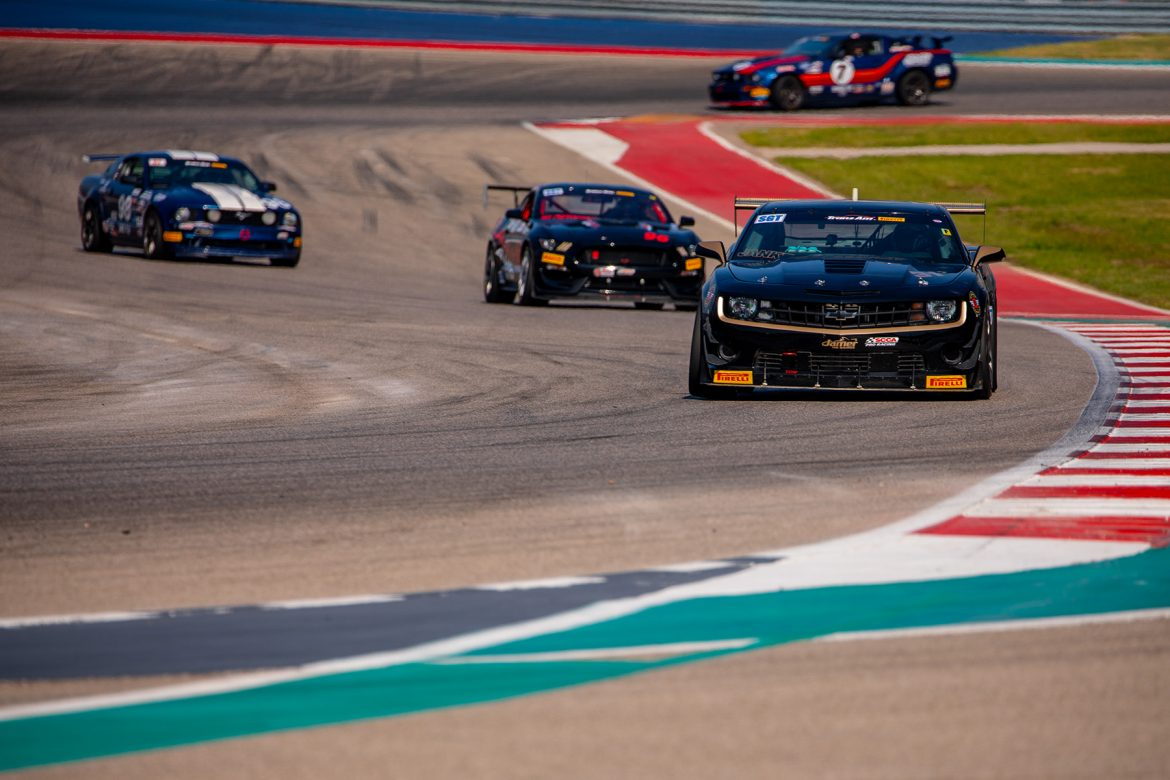 APEX Wheels win the Pirelli Trans Am at COTA!