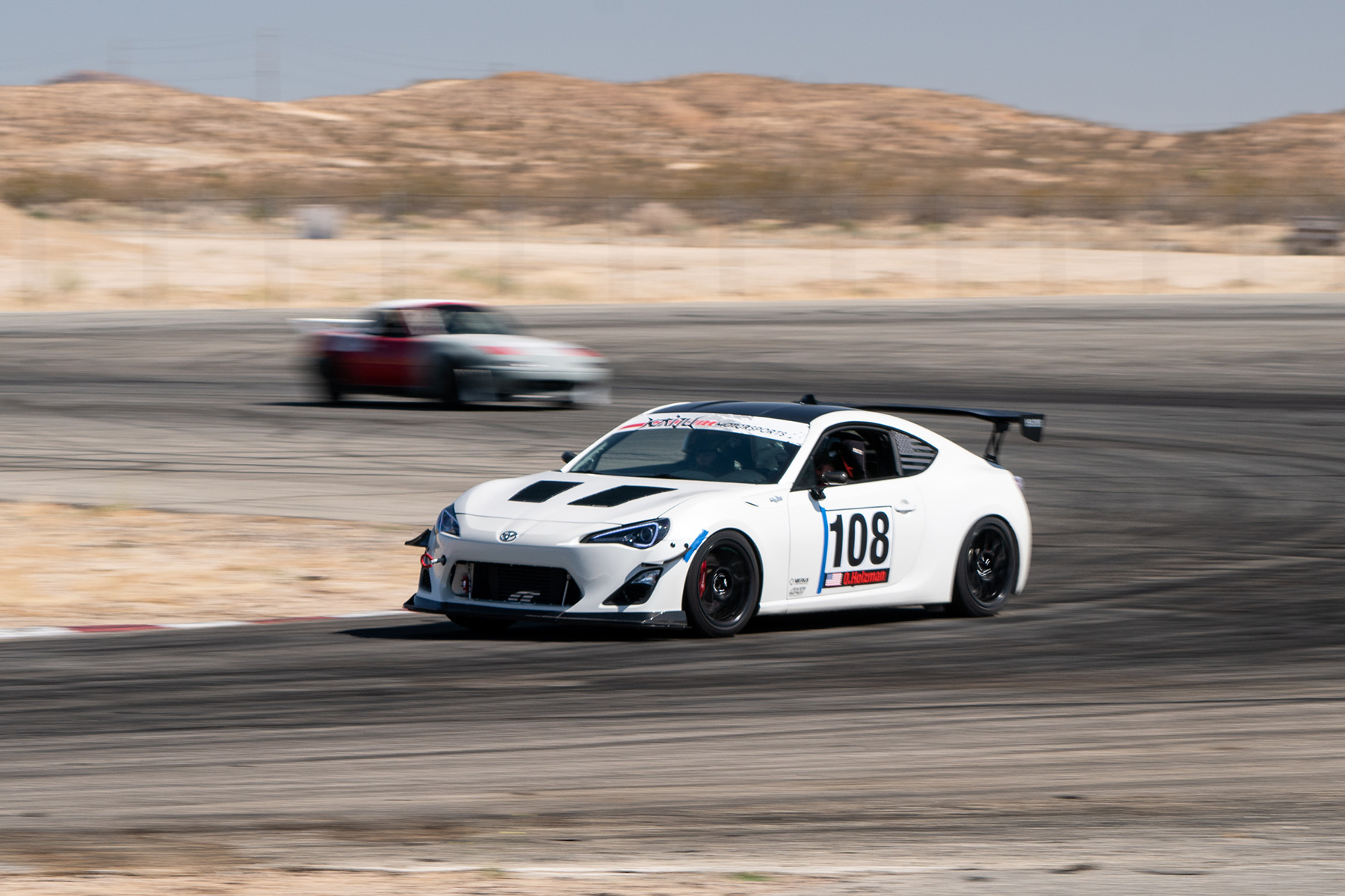 """Scion FRS with 17"""" ARC-8 Wheels at 86 CUP"""