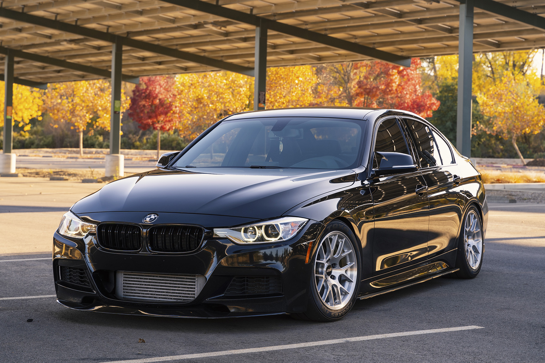 Bmw F30 3 Series Featuring Ec 7r Forged Wheels Apex Race